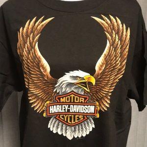 Vintage Harley Davidson Las Vegas Dark Brown Tee